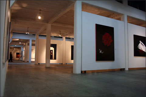 Chinese contemporary art gallery in Shanghai